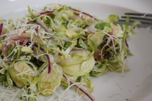 Brussel Sprout Salad | www.purplehousecafe.com