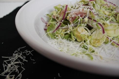Brussel Sprout Salad | www.purplehousecafe.com