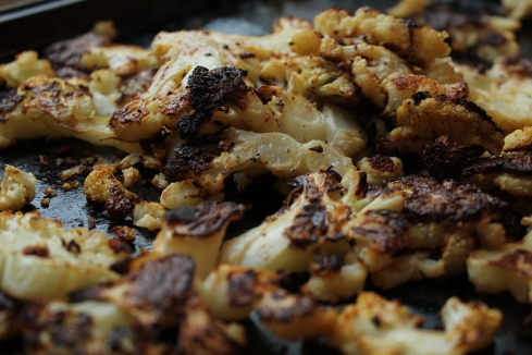Game Changing Roasted Cauliflower | www.purplehousecafe.com