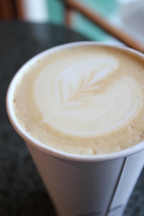 A lovely latte...